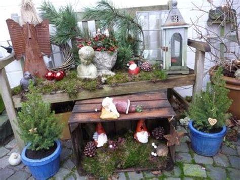 Weihnachtsdeko Fensterbank Aussen by Weihnachtsdeko Garten Ideen Die 25 Besten Ideen Zu
