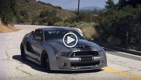 mustang shelby modified is this modified ford mustang shelby gt500 with 1000hp