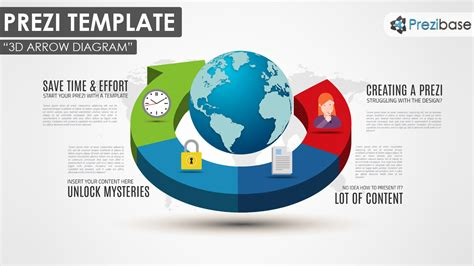 prezi templates 3d 3d arrow diagram prezi template prezibase