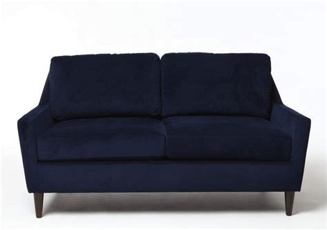 cheap blue couch blue velvet sofa cheap to chic cococozy