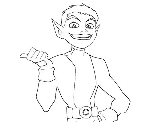 teen titans go beast boy coloring teen titans beast boy coloring pages coloring 4 kids dc