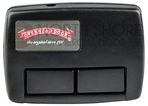 Overhead Garage Door Crusader 2 Button Remote 111663 3902 Crusader Garage Door Opener