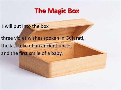 magic box the magic box