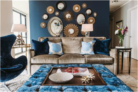 home decor trend the blue velvet