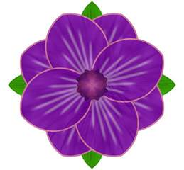 purple flower 2 by webgoddess on deviantart