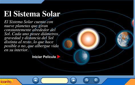 imagenes educativas del sistema solar fotos del sistema solar dibujos interior de los planetas