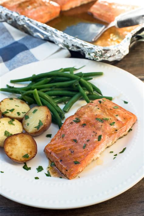 salmon in oven oven roasted maple salmon recipe