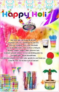 holi theme party holi theme party ideas holi party supplies amp decoration delhi ncr planet