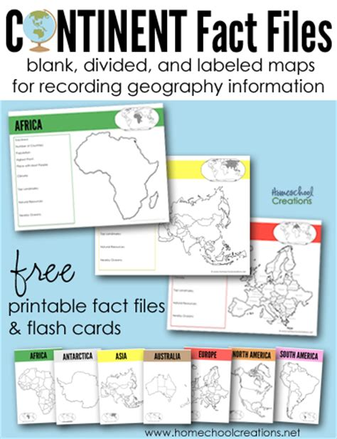 printable geography games continents fact files printable geography printables