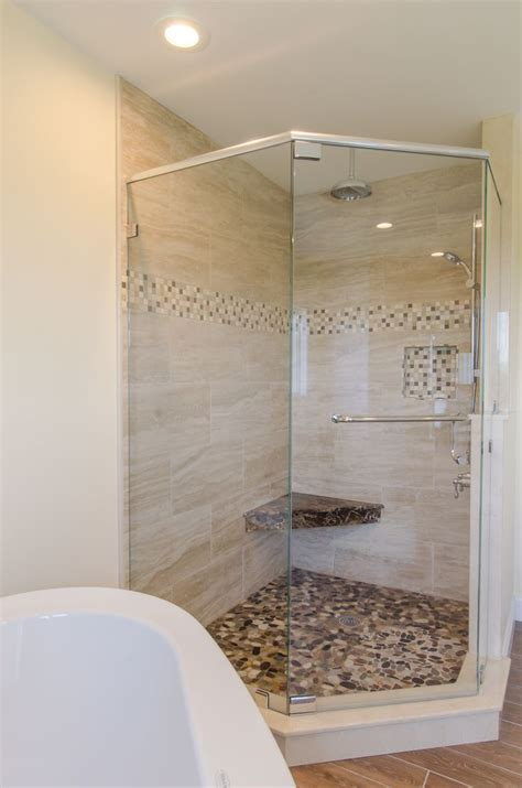 bathroom shower ideas pictures best large tile shower ideas only on master