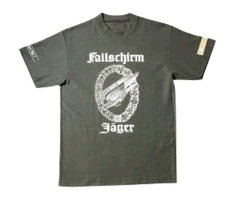 Tshirt Blad Division 1st falshirmjaeger division t shirt warshows