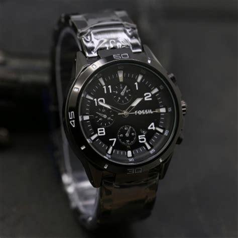 jual jam tangan pria cowok fossil chrono variasi rantai