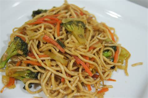 simple vegetarian recipes chinese five spice noodles