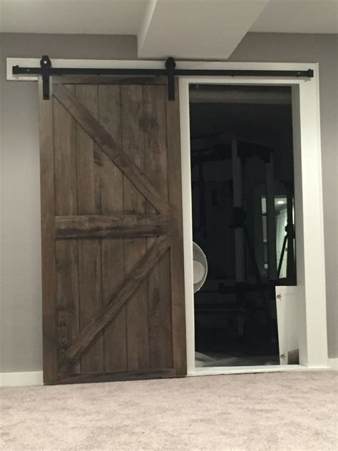 ebony  jacobean stain  barn door diy barn door