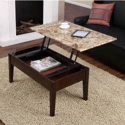 Espresso Lift Top Coffee Table New Faux Marble Lift Top Coffee Table Espresso Solid Wood