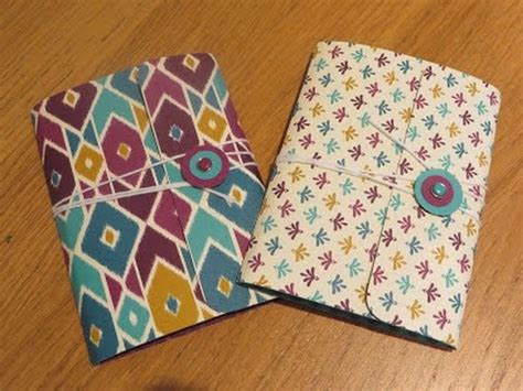 Handmade Notebook Tutorial - pocket notebook tutorial including a handmade notebook