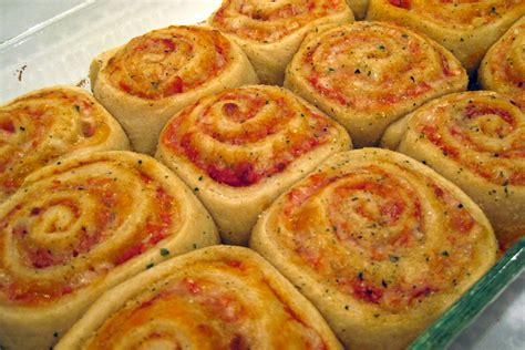 In the Long kitchen: Pizza Rolls
