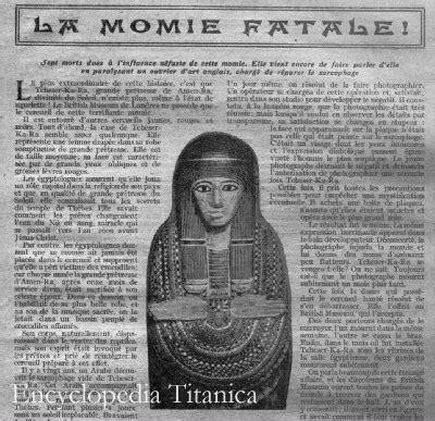 Titanic 2012 Curse Of Rms Titanic an unofficial investigation on mummy titanic