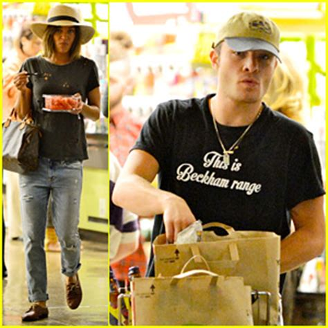 ed westwick szohr shop for groceries together
