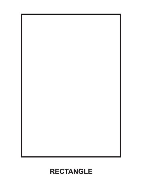 Rectangle Coloring Pages free coloring pages of rectangle shape
