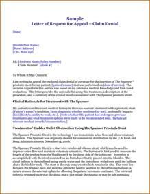Insurance Denial Letter Template 13 Appeal Letter For Insurance Claim Denial Lease Template