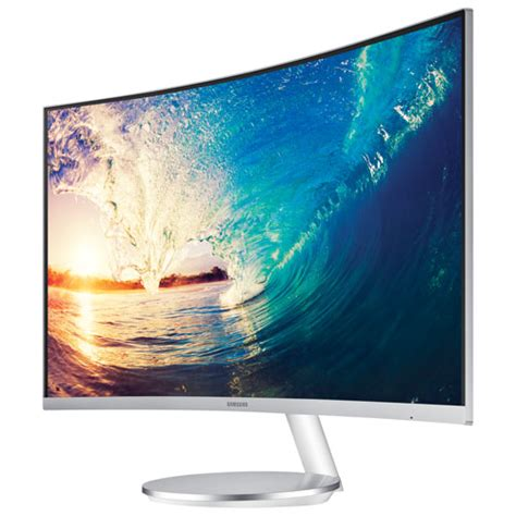 Monitor Curve Samsung samsung 27 quot 1080p hd 60hz 4ms curved led monitor