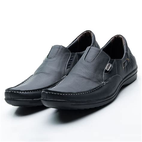 Sepatu Pantopel Aj16 Murah sepatu pria pantofel casual kulit made murah best seller 4model elevenia