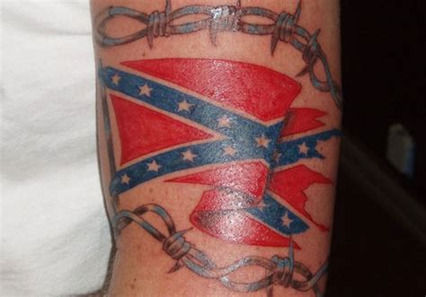confederate flag tattoo 25 magnificent rebel flag tattoos creativefan