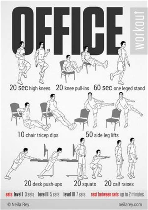 Ab Workout While Sitting At Desk by Office Workout Infographic Will