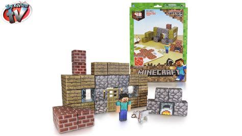 Minecraft Overworld Deluxe Papercraft Pack - minecraft overworld shelter pack papercraft review