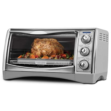 What Can I Make In A Toaster Oven Black Decker Perfect Broil 6 Slice Convection Toaster Oven