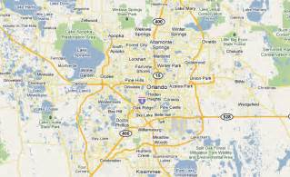 map of orlando florida central florida links