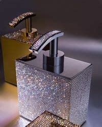 bling bathroom accessories blinged out home decor sinks