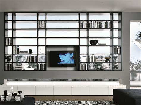 libreria con tv crossing libreria componibile by misuraemme design mauro