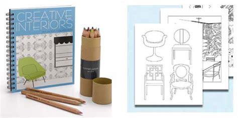 home design books home library creative interiors coloring book popsugar home