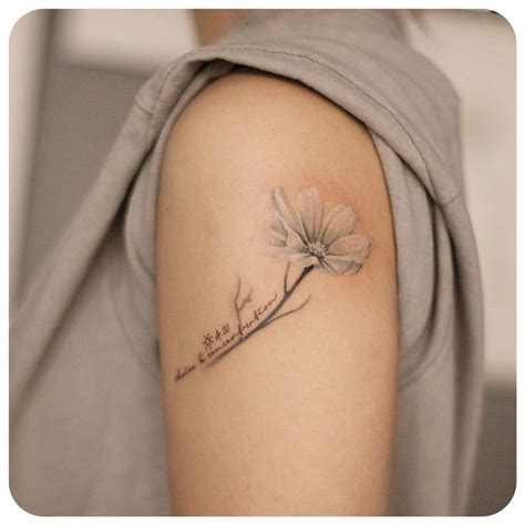 october tattoos best 20 cosmos ideas on