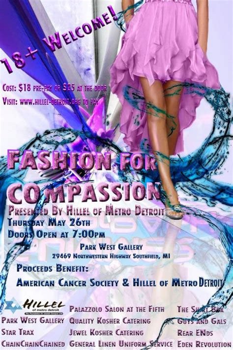 putting the c in cancer care compassion books hmd fashion for compassion fundraiser park west gallery
