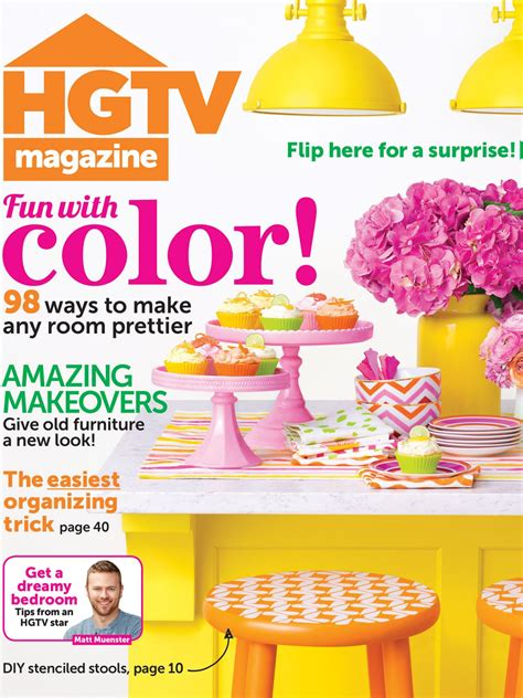 Home Interior Decorating Magazines by Hgtv Magazine May 2014 Hgtv