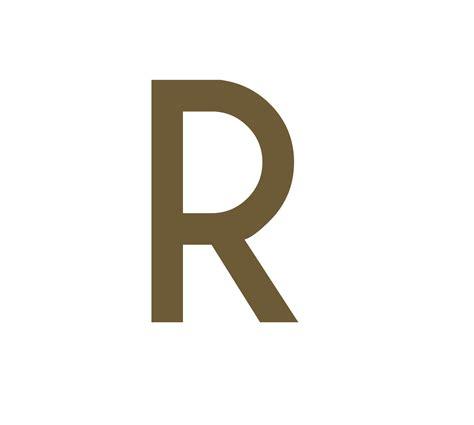 Aufkleber Buchstaben Gold by Muelltonnen Aufkleber Buchstabe Grossgeschrieben R Gold