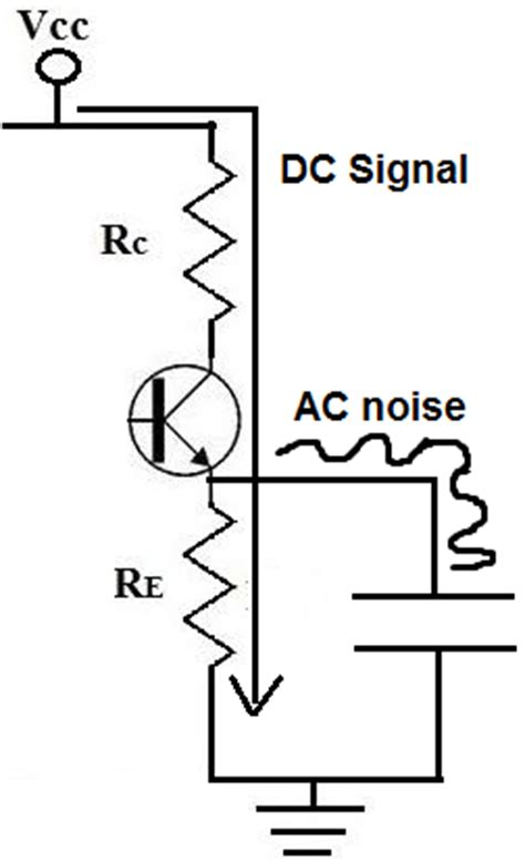 how capacitor work in dc supply what is a bypass capacitor one by zero electronics