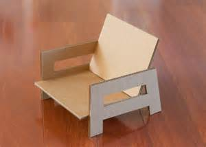 diy cardboard furniture sweet and easy diy cardboard chair for a room