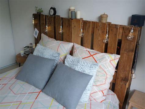 lit palettes tete de lit avec palette swyze