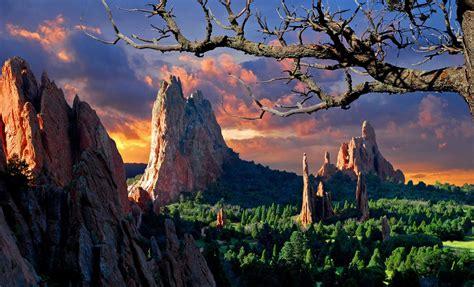 Garden Of The Gods Park New Oakwood Homes In Colorado Springs Colorado