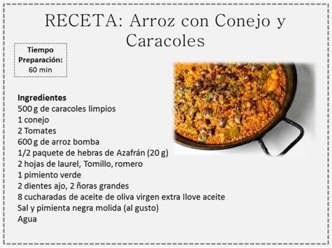 recetas para cocinar conejos arroz con conejo y caracoles recetas de cocina