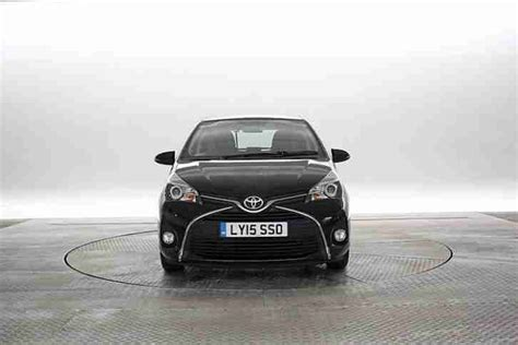 Toyota Eclipse Toyota 2015 15 Reg Yaris 1 3 Icon Cvt Eclipse Black 5