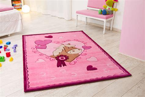 teppich rosa kelii kinder teppich pony rosa teppich kinderteppich bei
