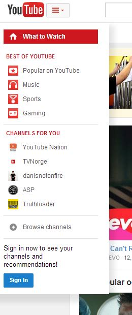 youtube experimental layout youtube s center aligned ui ready for launch