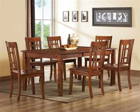 convertibles esszimmer sets medium brown cherry modern dining table w optional side chairs