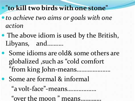 Cold Comfort Idiom Meaning by Metaphor Idiom In Efl And Esl Teaching Learning