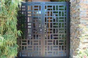 Decorative Iron Gates by Contemporary Metal Gate Italian Decorative Pedestrian